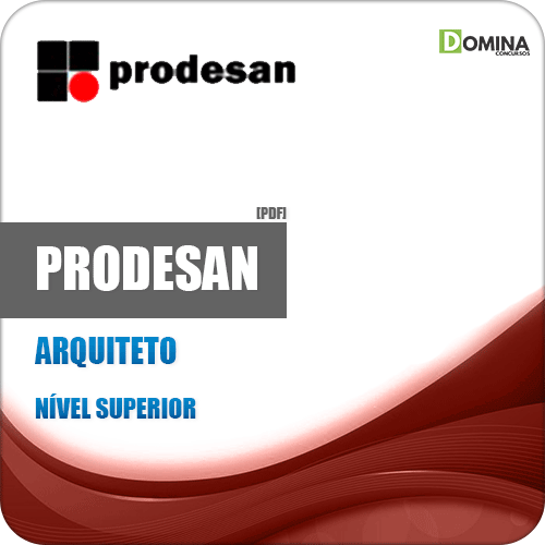 Apostila Concurso PRODESAN 2019 Arquiteto Pleno