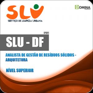 Apostila Concurso SLU DF 2019 Analista Arquitetura