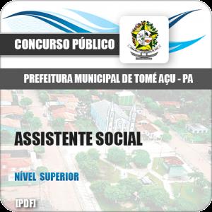 Apostila Concurso Pref Tomé-Açu PA 2019 Assistente Social