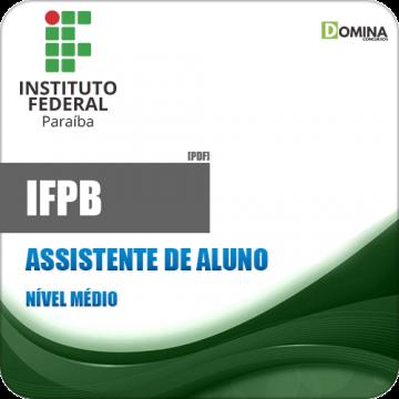 Apostila Concurso IFPB 2019 Assistente de Aluno
