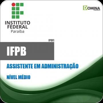 Apostila Concurso IFPB 2019 Assistente em Administração