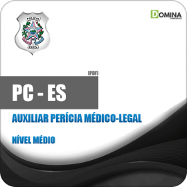 Apostila PC ES 2019 Auxiliar Perícia Médico Legal