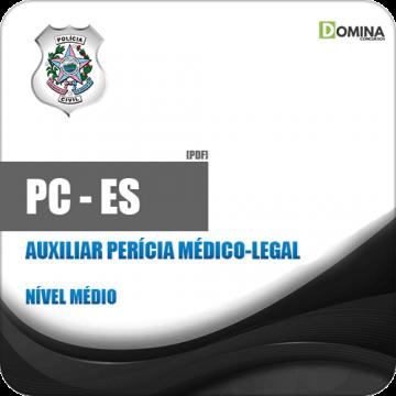 Apostila PC ES 2019 Auxiliar Perícia Médico Legal