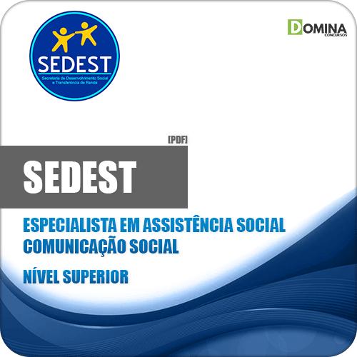 Apostila Concurso SEDEST DF 2019 Comunicação Social