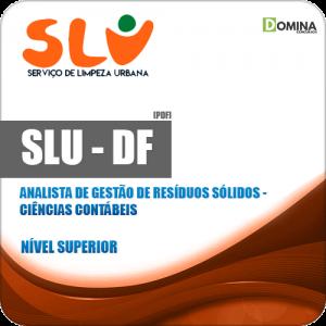 Apostila Concurso SLU DF 2019 Analista Ciências Contábeis