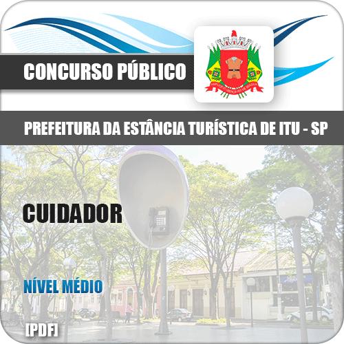 Apostila Concurso Prefeitura Itu SP 2019 Cuidador