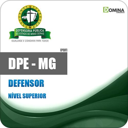 Apostila Concurso DPE MG 2019 Defensor Público