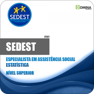Apostila Concurso SEDEST DF 2019 Estatística