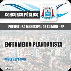 Apostila Prefeitura Suzano SP 2019 Enfermeiro Plantonista