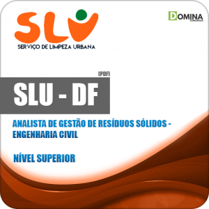 Apostila Concurso SLU DF 2019 Analista Engenharia Civil
