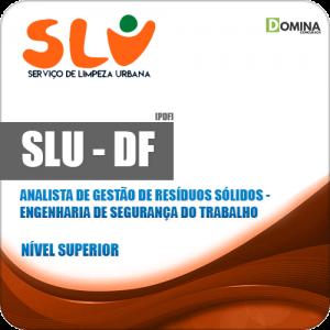 Apostila SLU DF 2019 Engenharia de Segurança do Trabalho