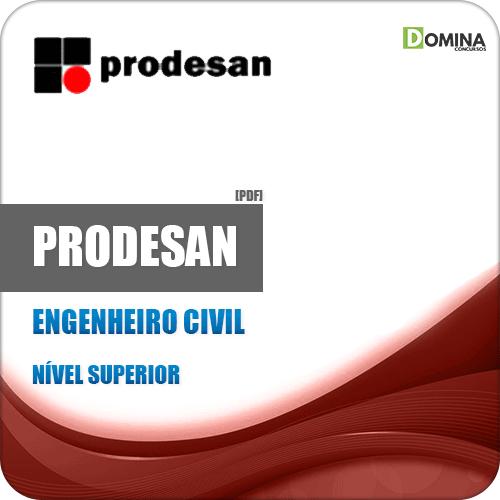 Apostila PRODESAN 2019 Engenheiro Construções Civis