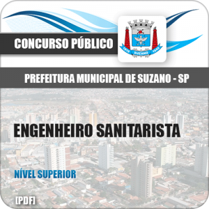 Apostila Prefeitura Suzano SP 2019 Engenheiro Sanitarista