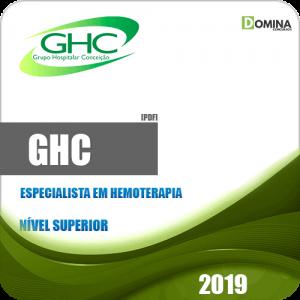 Apostila Concurso GHC 2019 Especialista em Hemoterapia