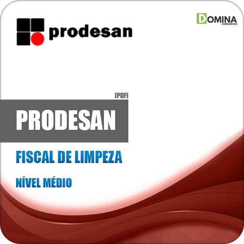 Apostila Concurso PRODESAN 2019 Fiscal de Limpeza