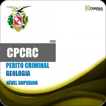 Apostila Concurso CPC RC PA 2019 Perito Criminal Geologia