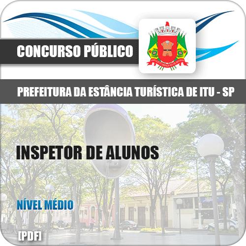 Apostila Prefeitura Itu SP 2019 Inspetor de Alunos
