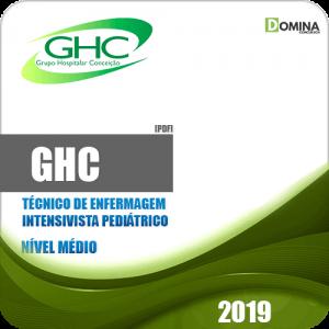 Apostila Concurso GHC 2019 Intensivista Pediátrico