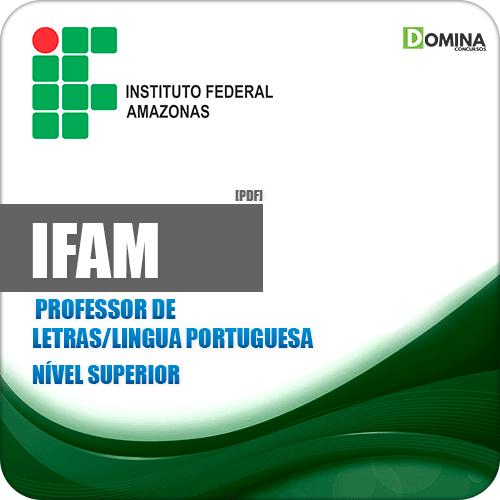 Apostila IFAM 2019 Professor Letras Língua Portuguesa