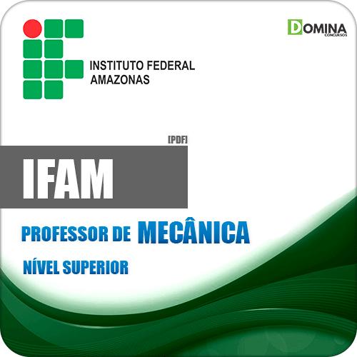 IFAM 2019 Professor de Mecânica