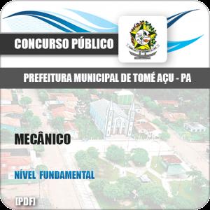 Apostila Concurso Prefeitura Tomé-Açu PA 2019 Mecânico