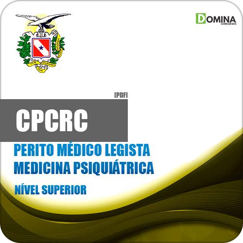 Apostila Concurso CPC RC PA 2019 Medicina Psiquiatra