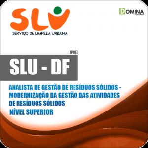 SLU DF 2019 Analista Atividade de Resíduos Sólidos