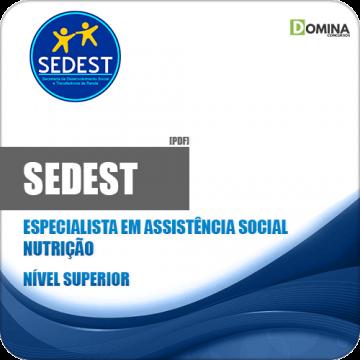 Apostila Concurso SEDEST DF 2019 Especialidade Nutrição