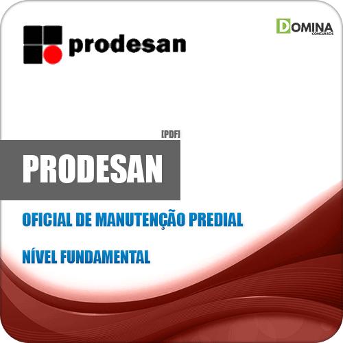 Apostila Concurso PRODESAN 2019 Oficial de Manutenção