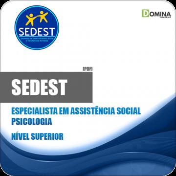 Apostila Concurso SEDEST DF 2019 Especialidade Psicologia