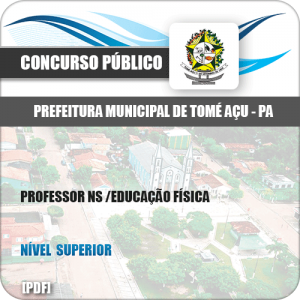 Apostila Tomé-Açu PA 2019 Professor NS Educação Física