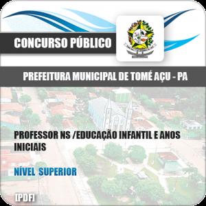Apostila Pref Tomé-Açu PA 2019 Professor NS Anos Iniciais