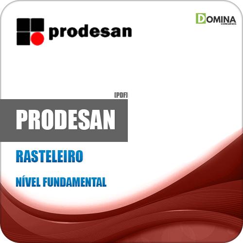 Apostila Concurso Prodesan 2019 Rasteleiro Completa