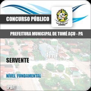 Apostila Concurso Prefeitura Tomé-Açu PA 2019 Servente
