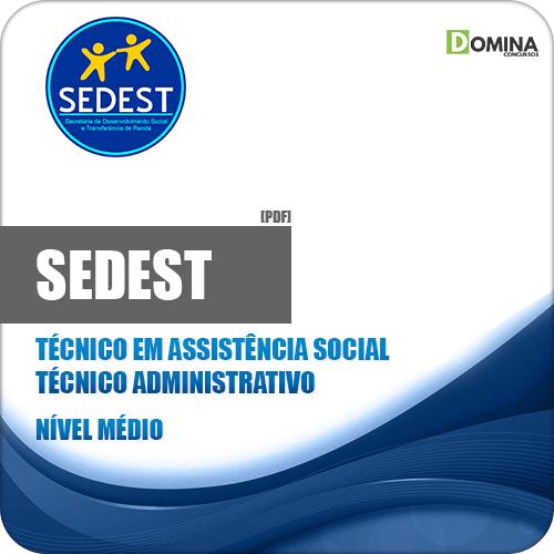 Apostila Concurso SEDEST DF 2019 Técnico Administrativo