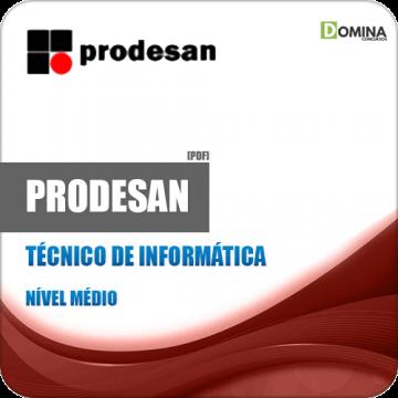 Apostila PRODESAN 2019 Técnico de Informática Jr