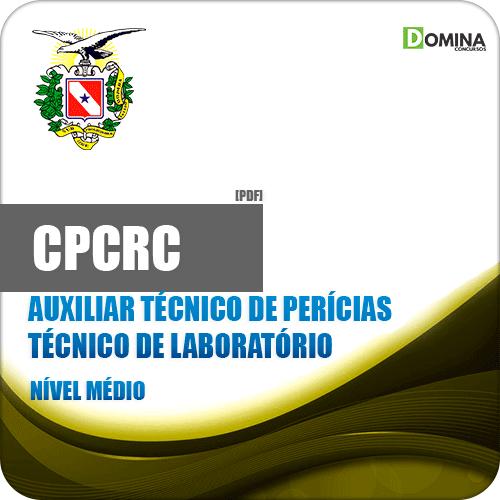 Apostila Concurso CPC RC PA 2019 Técnico em Laboratório