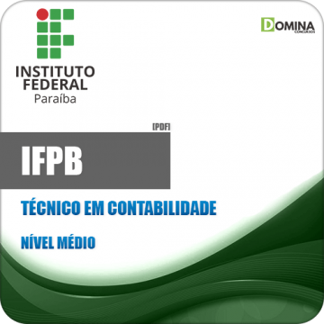 Apostila Concurso IFPB 2019 Técnico em Contabilidade