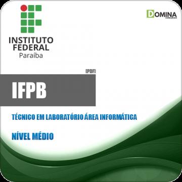 Apostila IFPB 2019 Técnico em Laboratório Informática