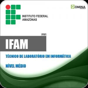 Apostila IFAM 2019 Técnico Laboratório Informática