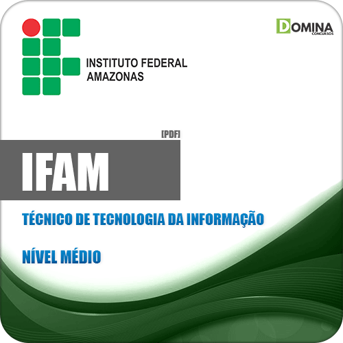 Apostila IFAM 2019 Técnico de Tecnologia da Informação