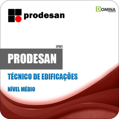 Apostila Concurso PRODESAN 2019 Técnico de Edificações