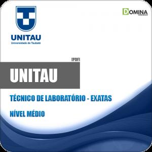 Apostila UNITAU 2019 Técnico de Laboratório Exatas