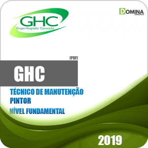 Apostila GHC 2019 Técnico de Manutenção Pintor
