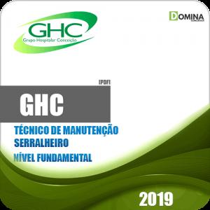 Apostila GHC 2019 Técnico de Manutenção Serralheiro
