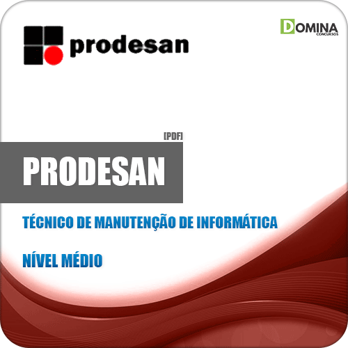 Apostila PRODESAN 2019 Técnico Manutenção Informática