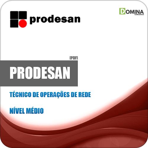 Apostila PRODESAN 2019 Técnico de Operações de Rede
