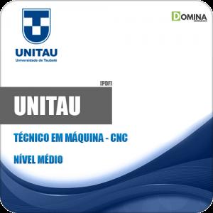 Apostila Concurso UNITAU 2019 Técnico em Máquina CNC