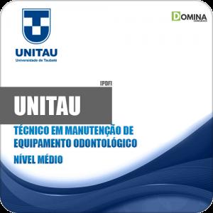 Apostila UNITAU 2019 Técnico Equipamentos Odontológicos