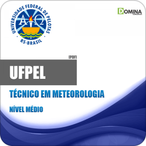 Apostila Concurso UFPEL 2019 Técnico em Meteorologia